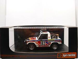 HPI 8878 Mitsubishi Pajero Car#162 1983 Rallye Paris Dakar 14th 1:43 MIB