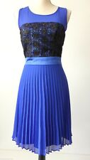 REVIEW rrp $279.95 Size 8 US 4 Sleeveless Pleated Sheath Dress