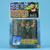 Macho Man Randy Savage - WCW Bruisers - Toybiz Vintage Wrestling Figure WWF WWE