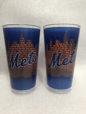 Set Of 2 Ny Mets Citi Field 2019 Fan Collector Cup Blue & Orange 20 oz Tumblers