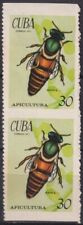 1971.156 SPAIN ANTILLES 1971 BEE APICULTURA ABEJA REINA IMPERFORATED HORIZONTAL