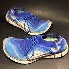 Nike Flyknit 5.0 Game Royal Wolf Gray Sz 13 Men's Shoes Run