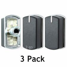 Genuine BELLING FSG60D FSG60DOP BI70GS Hob Oven Knobs Black Silver Switch x 3