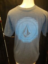 MENS GREY VOLCOM PRINTED GRAPHIC T SHIRT SIZE SMALL