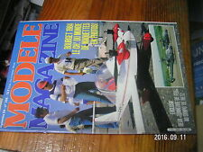 ?µ µ? Revue Modele Magazine n°396 Le Zero Helimax Mosquito Bourget 1984