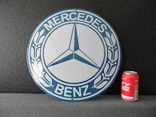 MERCEDES BENZ - Garage Dealership - Genuine Porcelain Enamel Advertising Sign