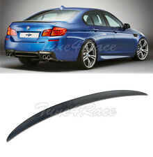 For 11-Up BMW F10 5-Series Sedan Carbon Rear Spoiler Trunk Lip Performance Style