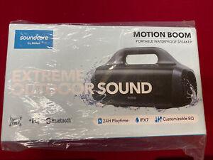 Soundcore Motion Boom Portable Waterproof Speaker By Anker New