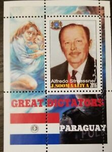 somalia 2016 the great dictators of the world Paraguay Alfredo Stroessner