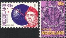 Netherlands 1992 Europa/Columbus/Sailing Ships/Explorers/Transport 2v set n19211