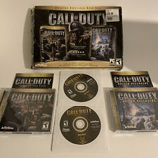 CALL OF DUTY PC GAME Deluxe Edition Box Set: Call Of Duty & United Offensive
