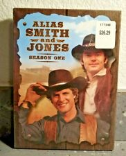 Alias Smith and Jones   Season One    (DVD with Slipcover)    BRAND NEW
