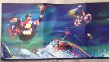 Extreme Sports Wall Border Paper 5 Yd Roll Appliqués BMX Skating Rafting Skiing