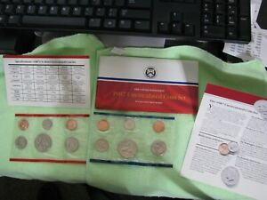 1987 United States Mint Uncirculated Coin Set P&D