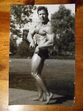 BODYBUILDER bodybuilding muscle ORIGINAL Gene Mozee photo