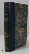Alfred de Vigny - Poésies 1883 1è ed. Lemerre Relié demi-maroquin Frontispice