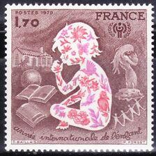 SELLOS FRANCIA 1979 2028 Año Internacional del Niño 1v.