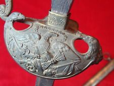 Rare Antique From 1803 Us Ceremonial Officer Sword with scabbard