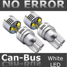 2X T10 194 W5W 30W 6SMD LED Car Xenon HID Wedge Light Bulb Canbus No Error 6500K
