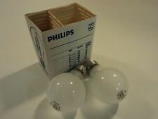 Philips 40 Watt Incandescent Light Bulbs Frosted Pack of 2 130V