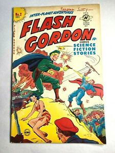 Flash Gordon 2 Harvey Comics Sci-Fi NICE Science Fiction 1950