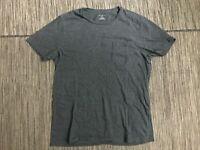 Club Monaco Adult Mens Medium Pocket Tee T Shirt Short Sleeve Gray Crewneck