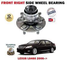 FOR LEXUS LS460 1UR-FSE 32v 2006-> NEW 1 X FRONT RIGHT WHEEL BEARING HUB KIT