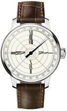 MeisterSinger Men's Benjamin Franklin USA Leather Strap Automatic Watch ED-FR4H