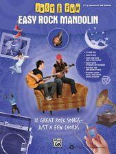 Easy Rock Mandolin - Music Book