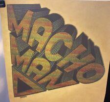 """1970's Vintage Iron On """" Macho Man """" (Bin #12)"""
