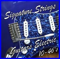 ELECTRIC GUITAR STRINGS 10-46's LIGHT Gauge Nickel wound .010 - .046