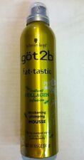 Got2b Schwarzkoph Fat-tastic Instant Collagen InfusIon Mousse 8.5oz Authentic