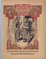 Kalender für das Erzgebirge und das übrige Sachsen 1922, 18. Jahrgang