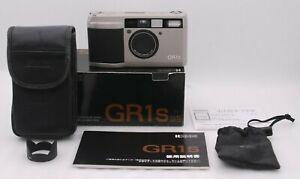 [ Nahe Neu IN Karton] Ricoh GR1s Silber 35mm Punkt & Shoot Film Kamera Aus Japan