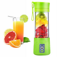 380ml Portable Rechargeable USB Electric Fruit Juicer Cup Smoothie MakerBlender