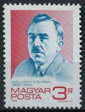 Ungheria 1989 SG # 3887 Kalman wallisch MNH #D 4237
