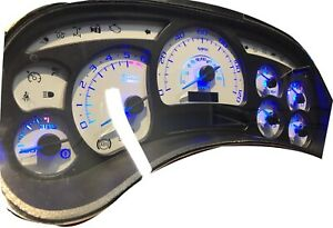 2003-2007 Silverado Escalade Instrument Cluster  Replacement Free Shipping LEDS