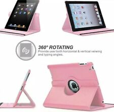 iPad Mini 1 2 3 360 Degrees Rotating PU Leather Flip Cover Case For Stand Holder