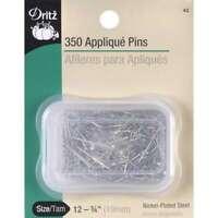 Quilting Applique Pins Size 12 350/Pkg 072879250831