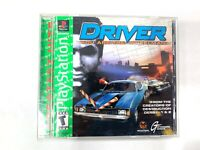 Driver (Sony PlayStation 1, 1999) Complete Tested Working PS1