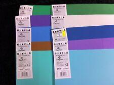 10 Rayher Crepla Moosgummiplatten 40x30cm 2mm siehe Foto R8-20-08