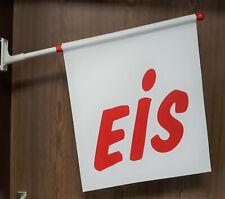 Werbefahne Eisfahne Kioskfahne Fahne Motiv Eis