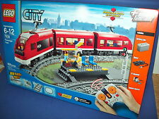 LEGO 7938 CITY PASSENGER TRAIN with tracks & motor Retired 3 mini figures NISB