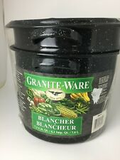 Granite Ware 7.3-Quart Blancher - 3 piece set Dishwasher Safe Cookware