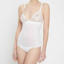 STRING FORMING BODY WOLFORD NETSATION coloris White. Taille 34 B.