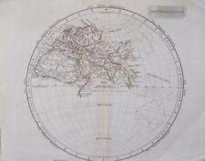 1800-1899 Date Range Antique World Sheet Maps