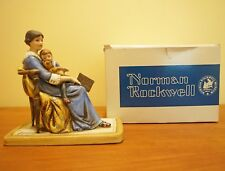 Norman Rockwell's Bedtime Figurine 1979 with original box literary digest cover