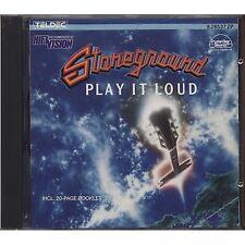 STONEGROUND - Play it loud - ROLLING STONES CD 1979/1987 USATO OTTIME CONDIZIONI
