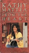 """KATHY MATTEA """"From The Heart"""" 4 track 1990 PolyGram VHS tape"""