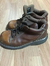 Dr.Martens Doc Womens Brown Leather Lace Up Chukka Ankle Boots 8542 Sz US 7